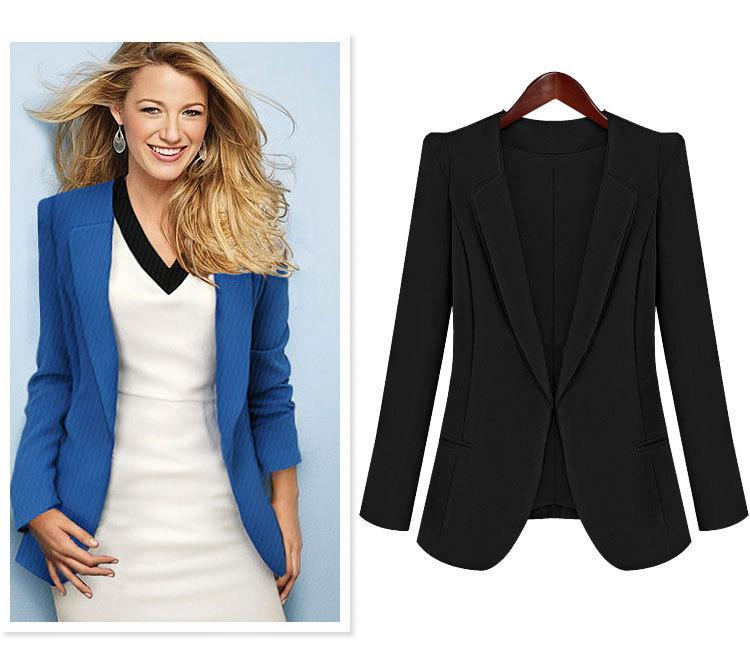 Women Formal Blazer for Office Wear, Fashoin Casual Blazer Formal ...