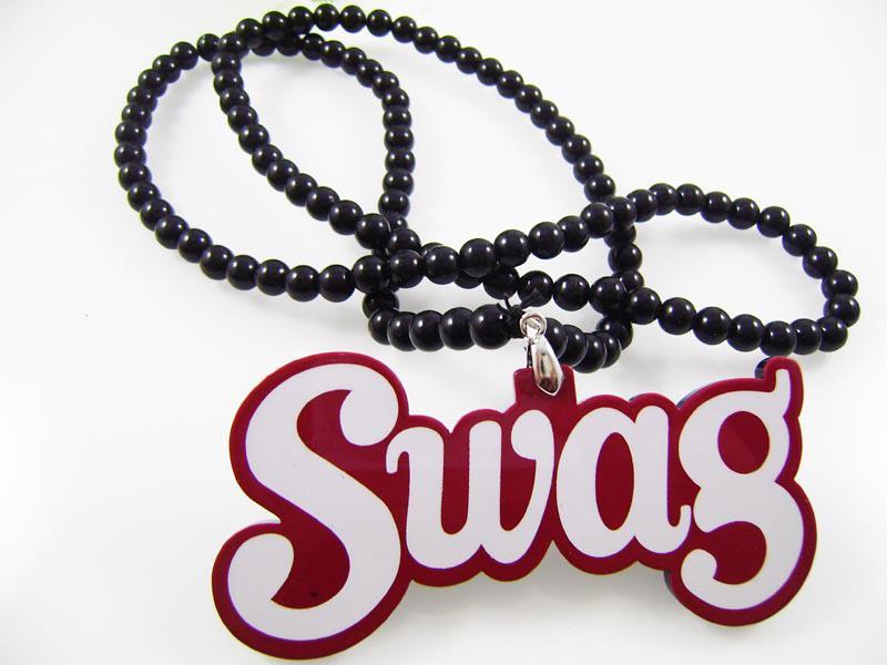 Vente chaude Bijoux Hiphop Chaîne Acrylique Hommes Collier Chaîne Hip Hop Charme SWAG Pièce