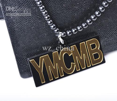 Colori alla moda 2 dei monili di Hip Hop della collana acrilica di legno hip-hop