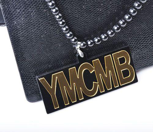 Hip Hop Buena madera Collar de acrílico Hip Hop Joyas de moda es Envío gratuito