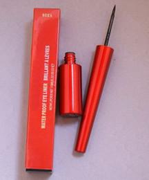 Trucco nero rosso online-spedizione gratuita DHL! HOT new red box Liquidlast WATERPROOF liquide Eyeliner colore nero 6ml
