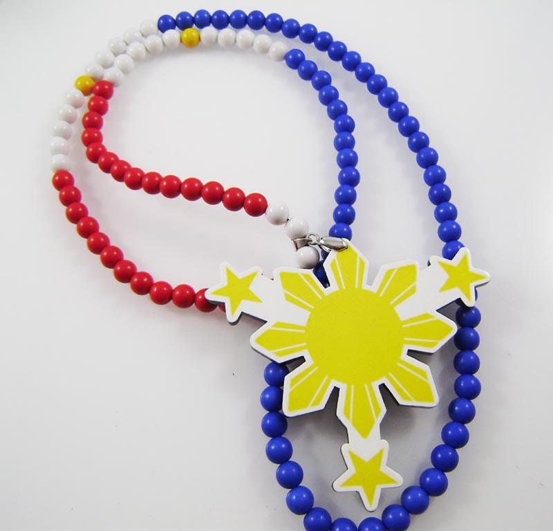 Frete grátis Hip hop boa madeira colorido sol acrílico colar dos homens colar de jóias
