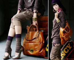Wholesale H Genuine Leather Handbags - brand 2013 fashion new handbags for womens high quality vintage designers genuine PU leather large h