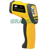 Wholesale GM700 Digital Non Contact Infrared IR Thermometer With Laser Point Gun degrees