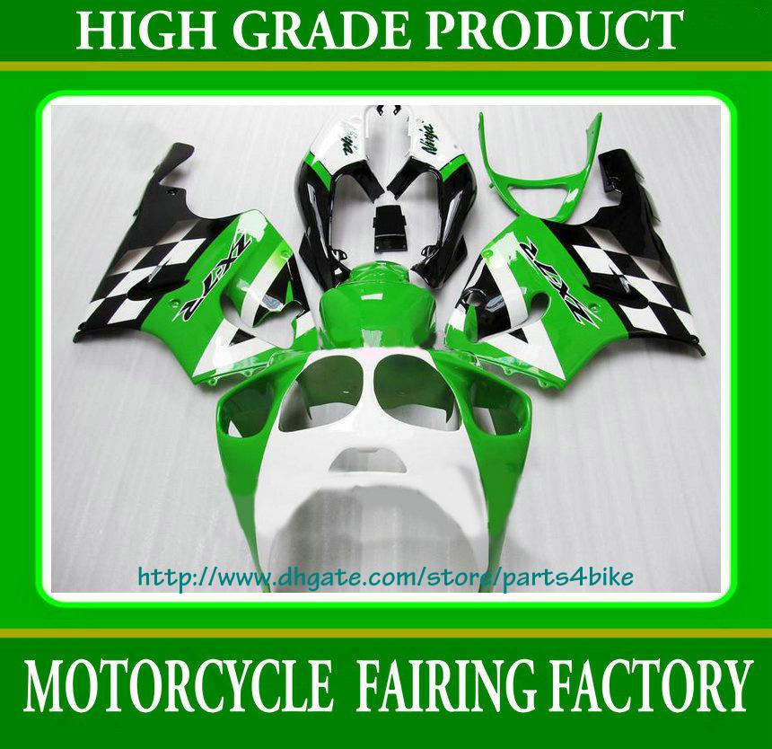 Motorcycle parts Fairing for Kawasaki Ninja ZX 7R 1996 1997 1998 1999 2000 2001 2002 2003 green RX5a