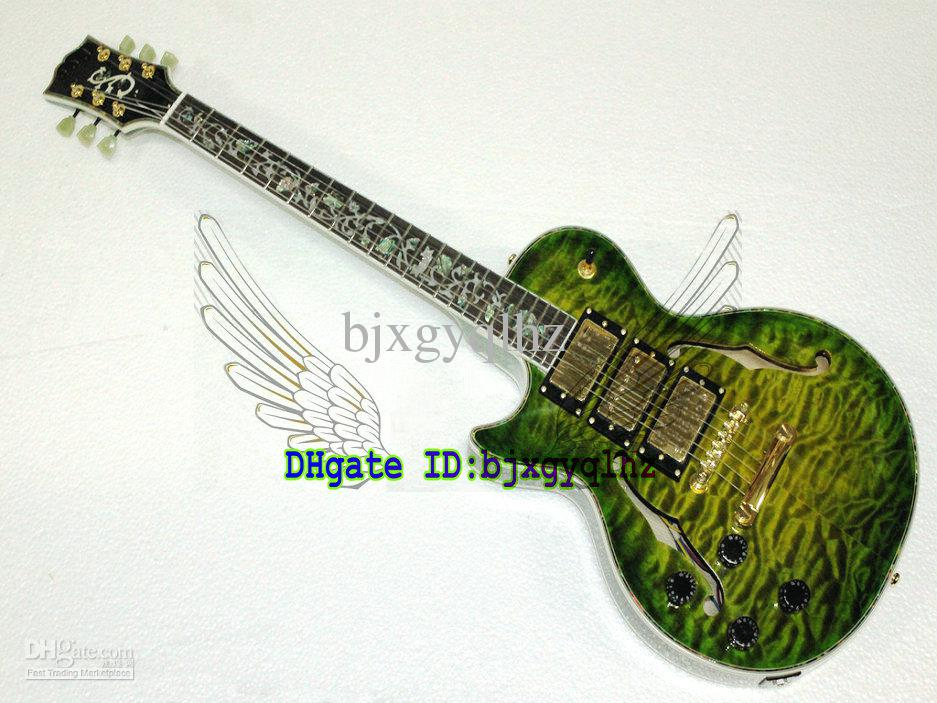 Left Handed Guitars Stores : hot left handed guitars custom shop green es electric guitar guitars from china different ~ Russianpoet.info Haus und Dekorationen