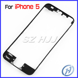 Wholesale Middle Bracket - For iPhone 5 Middle Frame LCD Bracket Housing Middle Bezel for iPhone5 5G Bracket with 3M Sticker Adhensive