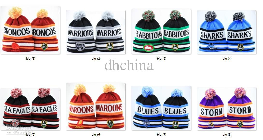 New NRL Team Beanies Caps Sports Hats Mix Match Order 18 Teams All Caps In  Stock Top Quality Hat Crochet Beanie Pattern Beard Beanie From Dhchina a6faccee43d