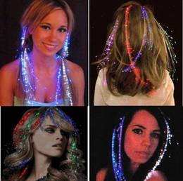 La fascia variopinta dei capelli Flash Flash LED ha condotto la copertura luminosa per i giocattoli del regalo della barra di festa del partito 100pcs da