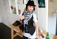 Wholesale Grey Scarf Skull - 2015 hot-selling South Korea scarf skull scarf   scarf   shawl 30piece lot