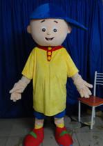 Wholesale Caillou Adult Costume - Brand New lovely boy caillou Mascot Costume Adult Size Fancy Dress Cartoon Character Outfits Suit