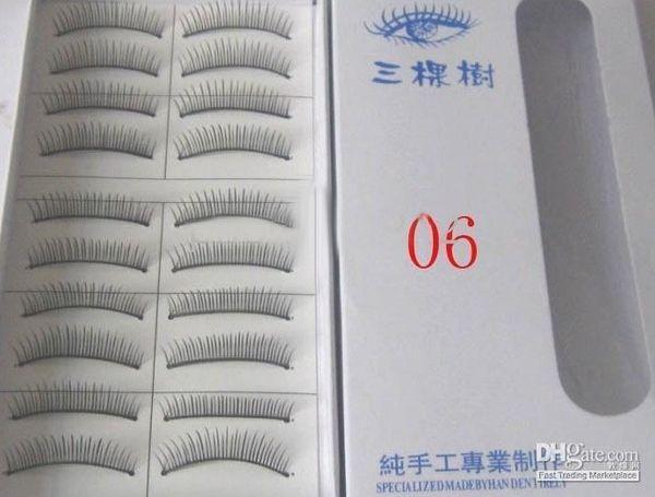 10 Set/lot + (10 Pairs in a SET) mix Natural OR Thick Fake False Eyelashes Eye Lash