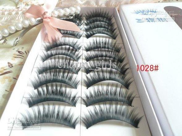 in a SET mix Natural OR Thick Fake False Eyelashes Eye Lash