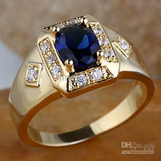 Мужчины Овальный черный оникс камень продолговатый база позолоченные кольцо R117 Gflm размер 10 11 12 J8200 продвижение