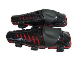 Wholesale Motorbike Pads - 2017 red-Black racing knee pad,motorcycle knee protector,motorbike protective gears