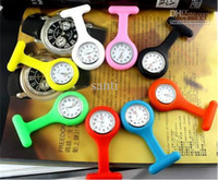 Wholesale Fashion silicone nurse watch doctor watch medical watch pocket watches