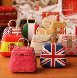 Wholesale Handbag Favor Box - New Handbag bag mini storage small box coin box jewlery earring box candy box tin box wedding favor