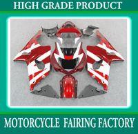 Wholesale K2 Fairing Custom - Custom race fairing kit For SUZUKI GSX R1000 00 01 02 GSXR1000 2000 2001 2002 K2 red white body RX3B