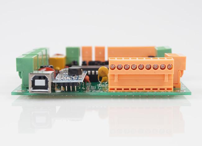 Nuevo controlador CNC del tablero del desbloqueo del eje 4 del USB 2.1 CNCUSB USBCNC Alternativa # MACH3 SM535 @SD