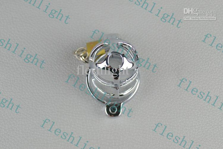 HOT:3 Rings by Chastity Cock, men sex toy/Male chastity device/Zinc alloy plating chromium Chastity