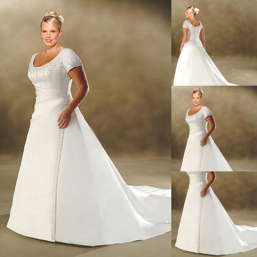 wedding gowns for fat women