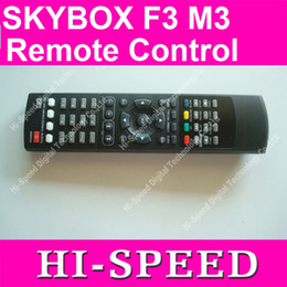 Wholesale Satellite Receiver Boxes - Remote control for Original skybox F3 Skybox M3 SKYBOX F5 F4 Satellite receiver box free shipping