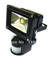 color de la luz de inundación verde al por mayor-10W LED PIR Sensor de movimiento infrarrojo pasivo Blanco cálido / Luz de inundación blanca fresca para seguridad al aire libre