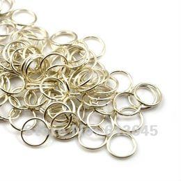 Kreisringverbinder online-200PCS / LOT, DIY Art- und Weisesilberne Ton-Kreis-Ring-Verbindungs-Schal-Zusätze, freies Verschiffen, AC0020
