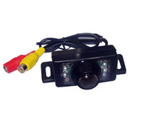 Wholesale Day Night Rear View Camera - Car Rear View 7 IR LED Reverse Reversing Security Night Day Backup Camera Waterproof 10pcs lot