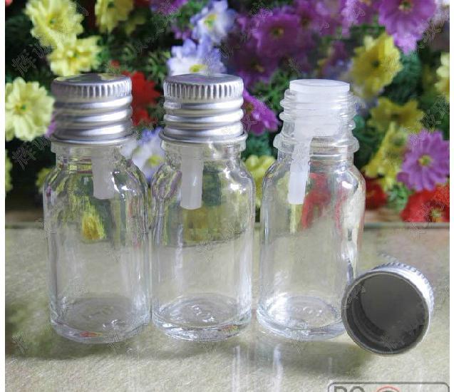 10 pçs / lote 10 ml 4 Cores Garrafas Recarregáveis Perfume Bottle Scent Bottle Essential Oil