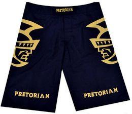Wholesale Mma Fighting Shorts - L,XL,XXL XXXL MMA Pretorian Fighters man shorts fight short black white R31 R032