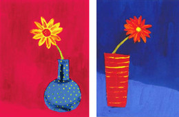 Wholesale Still Life Paintings Vases - Modern Still Life Group Painting Flowers In Vase Home Decoration Oil Painting Wall Art On Canvas
