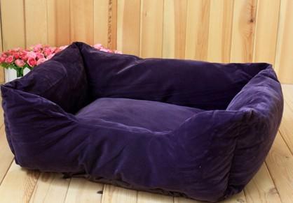 Big Promotion Spedizione gratuita a buon mercato animale domestico cane gatto letto gabbia kennel in pelle scamosciata flanella