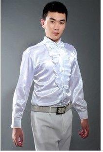 Camicia da sposo da uomo in stile nuovo Camicia da sposo i Camicia Groomsman 6 taglie H578