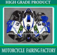 Wholesale race gsxr - Racing fairing kit for suzuki GSXR 1300 96 97 - 06 07 GSX R1300 1996 - 2003 2004 2007 fairings blue bodywork set RX3a