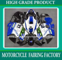Wholesale Hayabusa Race - Racing fairing kit for suzuki GSXR 1300 96 97 - 06 07 GSX R1300 1996 - 2003 2004 2007 fairings blue bodywork set RX3a