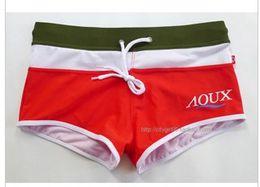 heißer Verkauf Herren Bademode AQUX Männer Bademode Mesh Mode Boxer Badehose von Fabrikanten