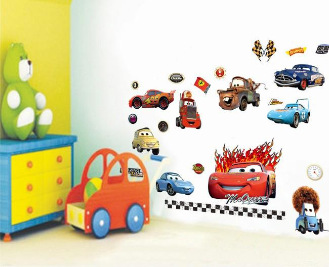 Superior Wholesale Removable Cars Wall Stickers Cartoon Nursery Wall Decals Kids  Room Wall Decor 50x70cm Cartoon Wall Stickers Online With $4.1/Piece On ... Part 28