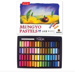 Wholesale Dye Hair Bug Rub - 64colors box Temporary Hair Color Dye Pastel Chalk Bug Rub Chalk Color Hair 27mm*8mm