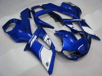 ingrosso yamaha yzf custom-Kit carena ABS blu personalizzato per YAMAHA YZF R6 1998-2002 YZF-R6 98 99 00 01 02 Parti della carrozzeria YZF R6