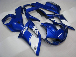Wholesale Yamaha R6 Fairing Kit Blue - Custom Blue ABS fairing kit for YAMAHA YZF R6 1998-2002 YZF-R6 98 99 00 01 02 YZF R6 bodywork parts