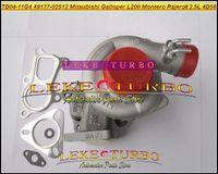 Wholesale mitsubishi pajero turbocharger - TD04-11G-4 49177-02512 28200-42540 MD170563 Turbo For Mitsubishi L200 Montero Pajero II for Hyundai Galloper 2.5L 4D56Q 4D56 turbocharger