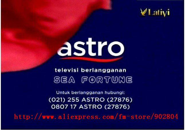 Measat 3 91 5KU band ASTRO Standard Definition channels, VIP server no lag  receiver, Suit for Malays