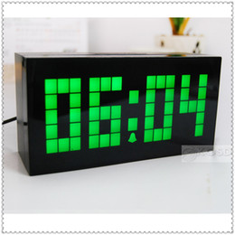 Wholesale Class Decor - Free Shipping!!LED Digital Clock Office Digital Clock Cooking Alarm Clock School Class Clock Home Decor Table Clock