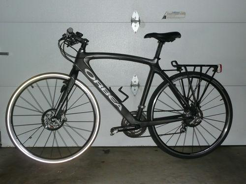 Orbea Diem Bike - 2 Tone Charcoal & Gray Carbon Fiber Bicycle