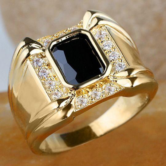 2018 Men 4 Claw Black yx Ring R128 Gflm Size 10 11 13 J8178