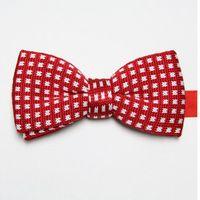 Wholesale Tie Knots Bow Men Black - butterflies polyester knitted ties bowknot men's necktie business red tie knot wool bowties cravat ascot D5