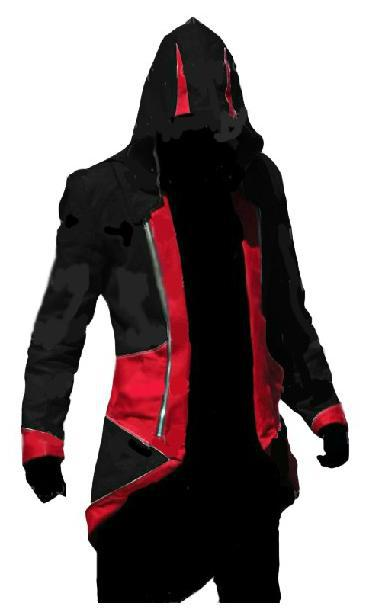 Assassins Creed III 3 Conner Kenway Casual Cosplay Any size Costume Jacket Coat Halloween gift Hero