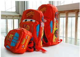Wholesale Cars Rucksack - 2016 new Cute Kids children car Schoolbags Baby boy girl backpack knapsack Rucksack Bags red S M L gift