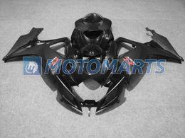 Wholesale K6 Fairing Kit - Body Kit fairing for Suzuki GSXR600 GSXR750 GSX R 600 750 06 07 K6glosse black fairing kit FOR SUZUKI GSXR 600 750 K6 2006 2007 GSXR600